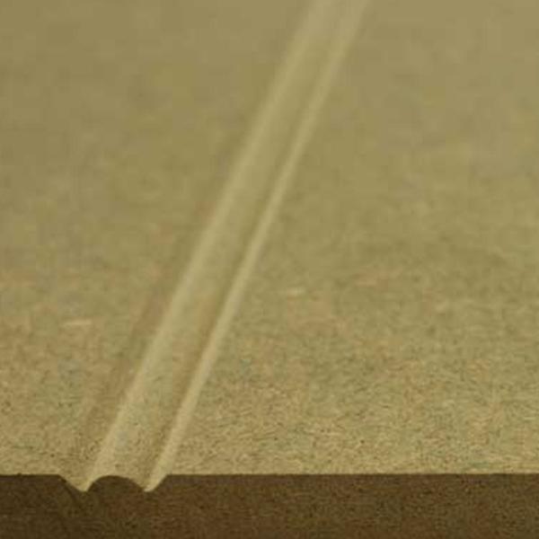 MDF Moisture Resistant V-Grooved & Beaded